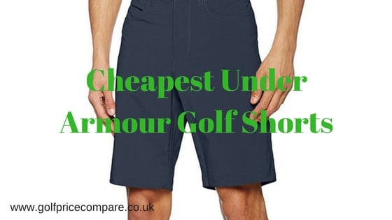 cheapest under armour golf shorts