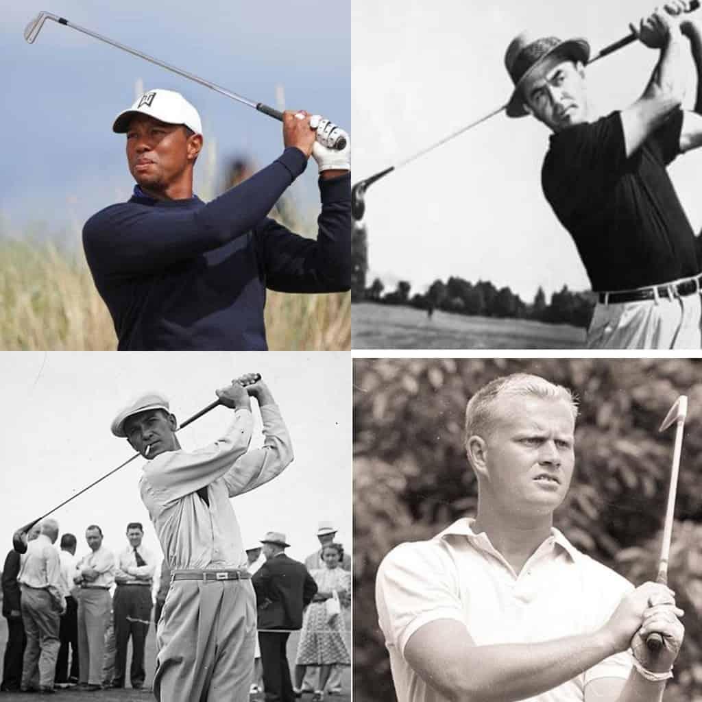 top 10 golfers