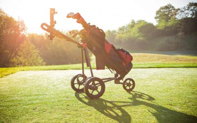 cube 3 golf trolley review