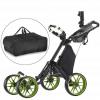 four wheel golf trolley