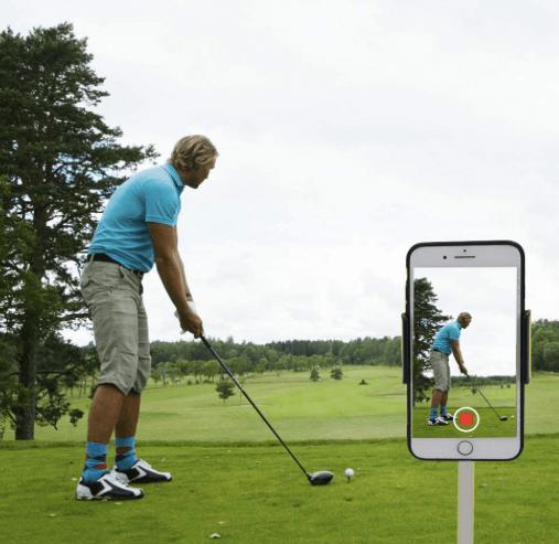 golf swing recorder