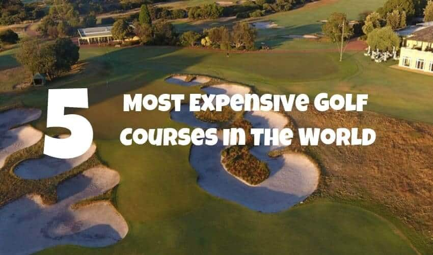 top 5 golf courses in the world